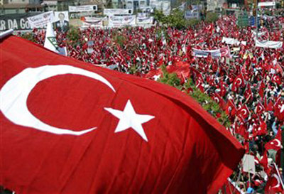 Turkey: Air Space violated