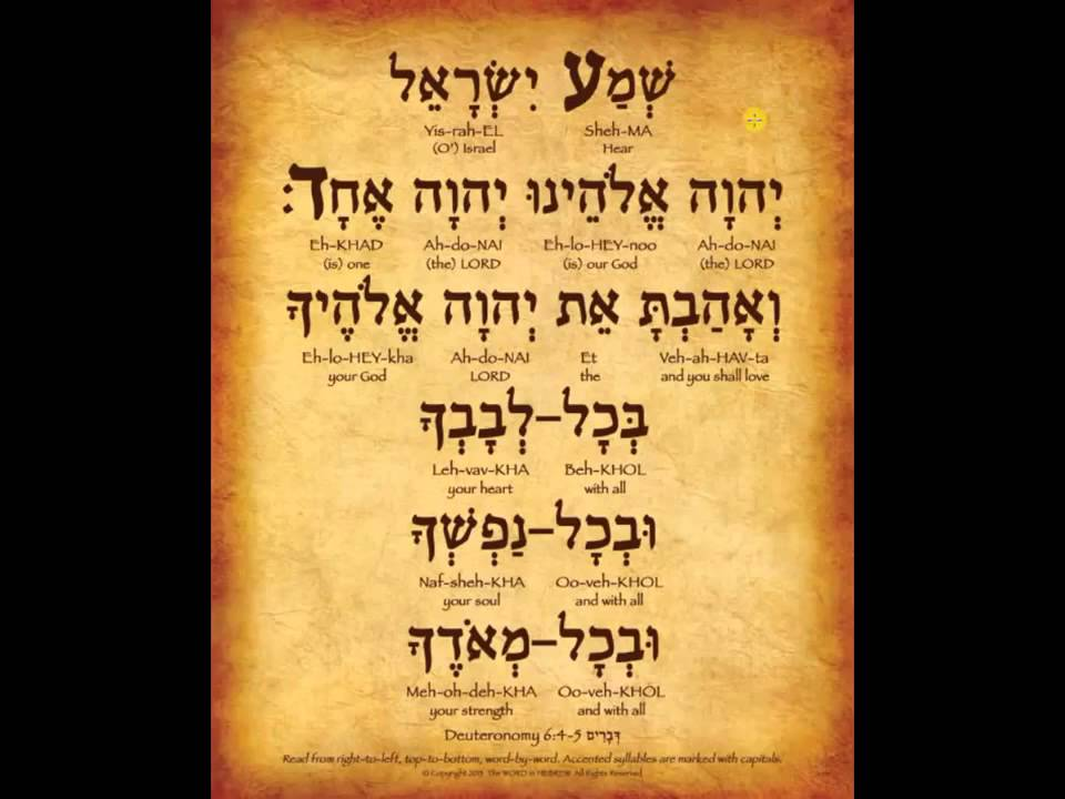 10 interesting facts that everyone should know about the Shema Prayer