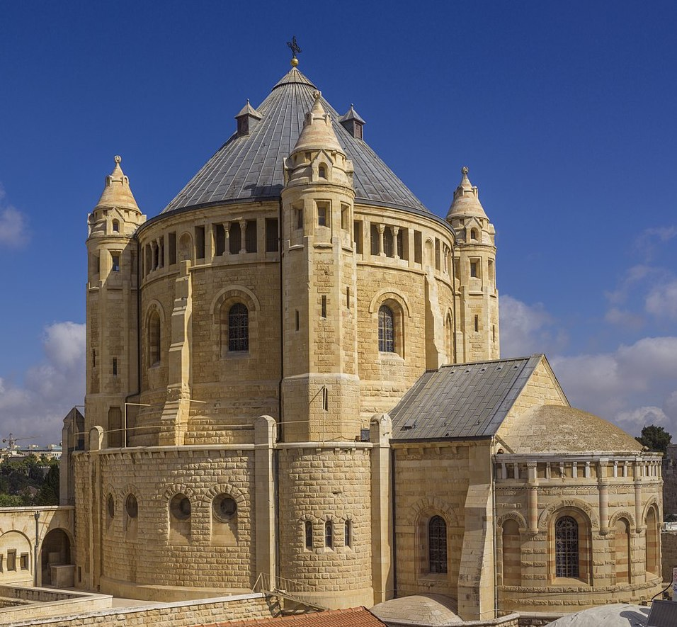 The Benedictine Abbey of the Dormition in Jerusalem on Mt. Zion