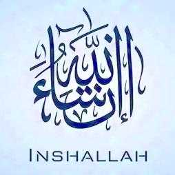 InshALLAH & DEO volente (GOD willing)
